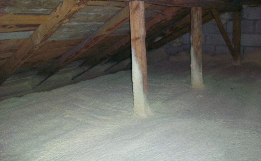 Izolacja stropu, Śniadowo
